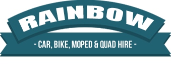 Welcome to Rainbow Rentals | Car, Bicycle, Moped and Quad Bike Hire in Ayai Napa, Cyprus